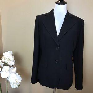 Loft Black Triple Button Blazer Size 8